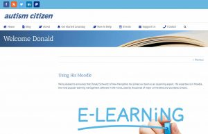 Autism Citizen website capture